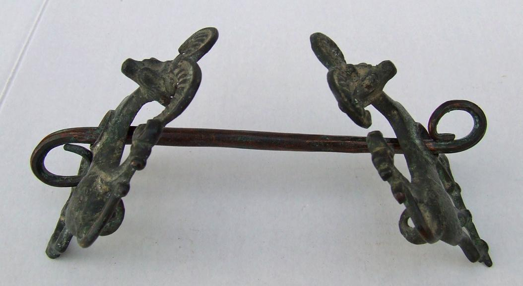 An Ancient Luristan Bronze Horsebit Circa 9th-7th century B.C.