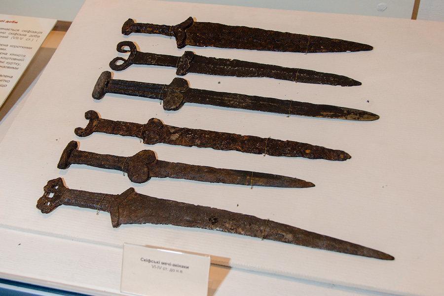 Ancient 6th - 5th century B.C. Scythian Short Sword Dagger Akinakes Acinaces Akinakk