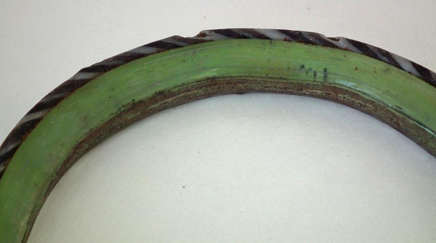 Ancient Roman Glass Bracelet Bangle 1st - 3rd Century AD