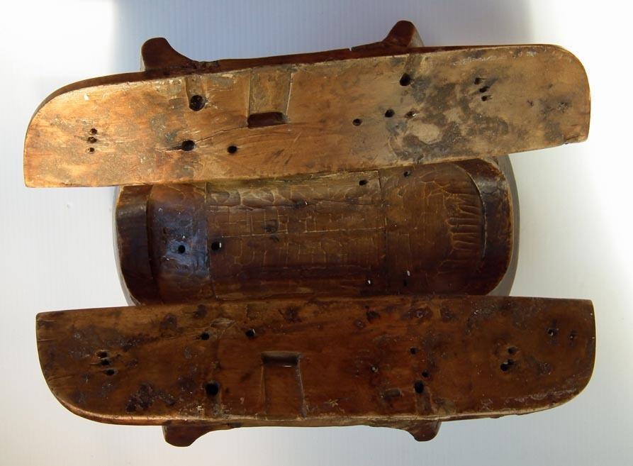 Antique Sino -Tibetan 18th - 19th century Chinese Tibetan Mongolian Horse Saddle