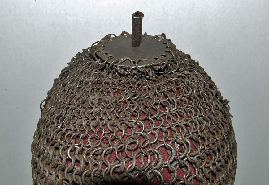 Antique 1500 AD -1700 AD Islamic Mughal India Indo Persian Helmet Kulah Zirah