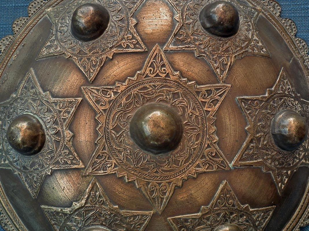Antique Islamic Indonesian Shield Peurise Teumaga Muslim Sultanate Aceh-Atjeh