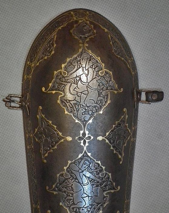 Antique 18th century Indo Persian Islamic Armour Bazuband