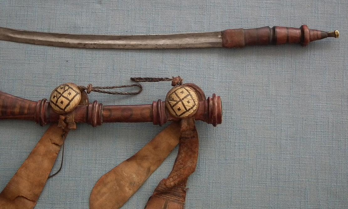 Antique 19th Century Islamic African Manding Mandingo Malinke Sword