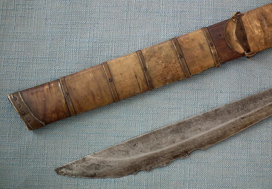 Antique Filipino Visayan Philippines Tenegre Sword 19th Century