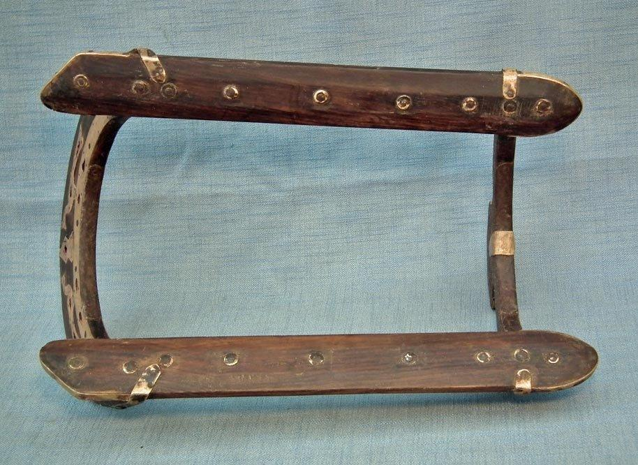 Antique 18th century Mughal Islamic Warrior's Saddle North-West India or Sindh-Pakistan