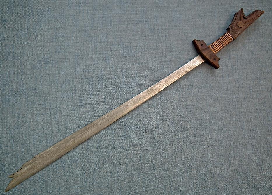Antique Filipino Moro Islamic Sword Kampilan 19th century