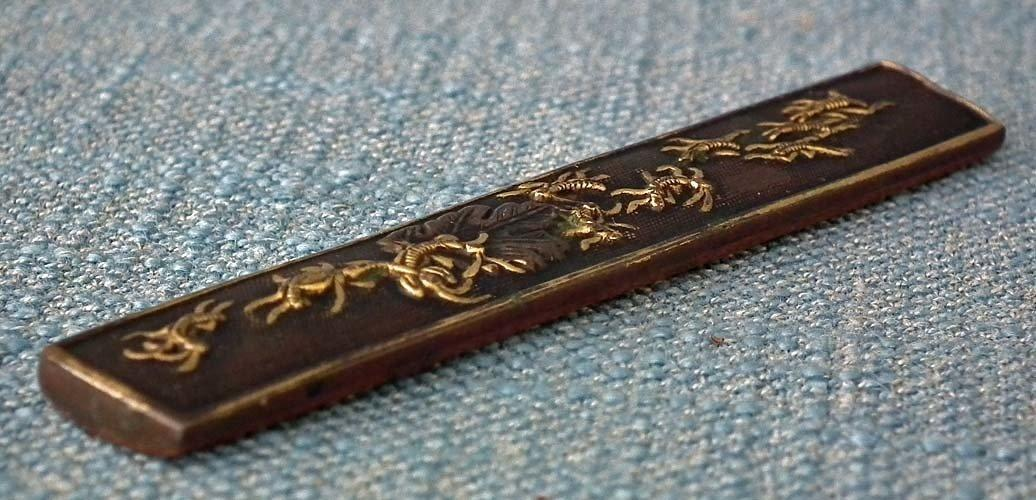 Antique Japanese Samurai Knife Kozuka To Sword Katana Wakizashi Tanto