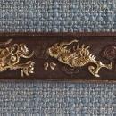 Antique Japanese Samurai Kozuka Dragon In The Clouds To Sword Katana Wakizashi Tanto