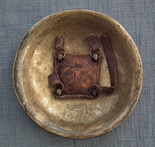 Antique Indo Persian Islamic Or Sikh Shield Gatka Dhal 18-19th Century India