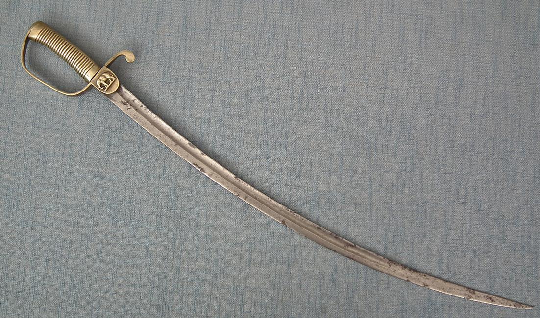 Antique Siamese Thai Army Military Sword 19th Century Siam Thailand