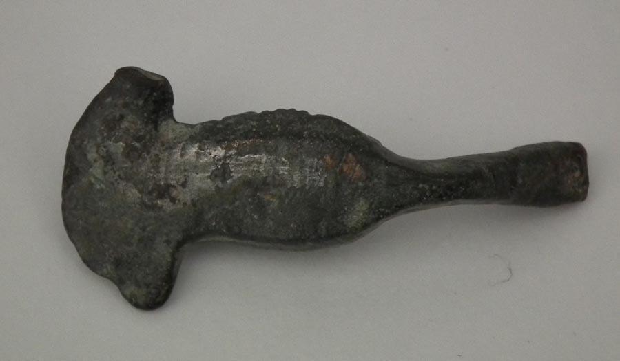 Ancient Roman 1st - 3rd century A.D. Bronze Jupiter Mask Bust Bust