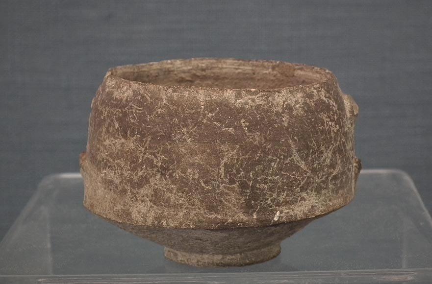 Ancient Etruscan Villanovan Impasto Pottery Vessel 8th Century B.C.
