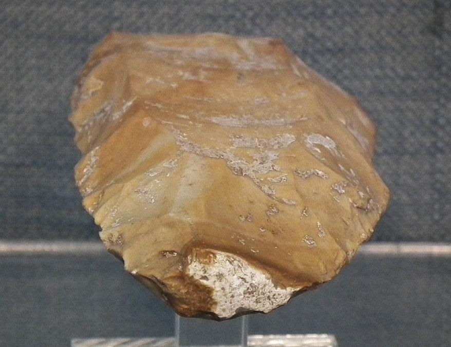 Prehistoric Paleolithic Mousterian Axe- Celt 90,000–35,000 B.C.
