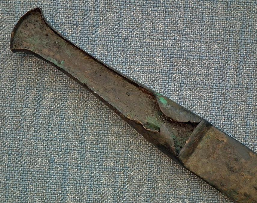 Ancient Bronze Babylonian Type Sword Dagger Luristan 1150 -900 B.C.