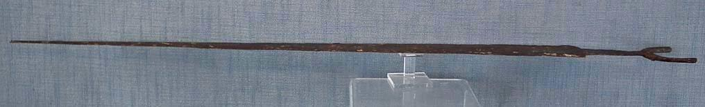 Ancient 6th - 5th century B.C. Scythian large Iron Sword Akinakes Acinaces Akinak