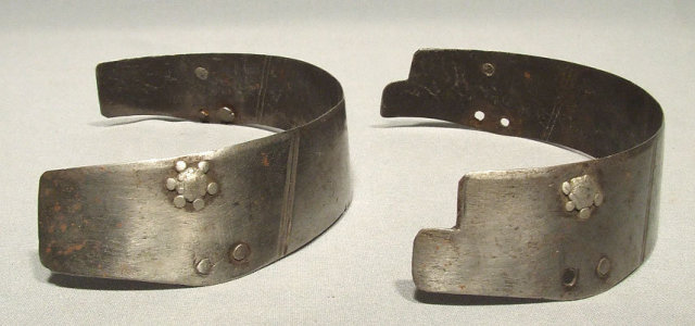 Antique 16th century 2 Armour Lames