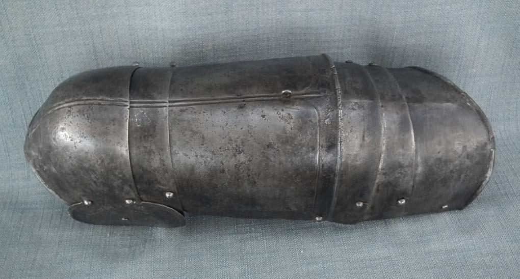 Antique 16th Century European Arm Armour Rerebrace