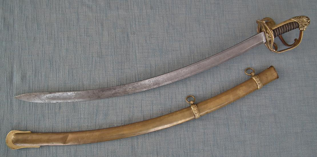 Antique Polish Cavalry Officer Sword Napoleonic Duchy Of Warsaw Poland 19th Century