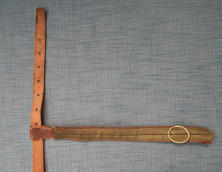 Antique 19th century Officer's Sword Belt With Gold Bullion