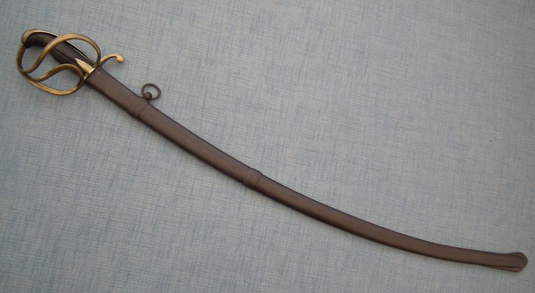 Antique Napoleonic Light Cavalry Napoleon Officer's Sword Sabre