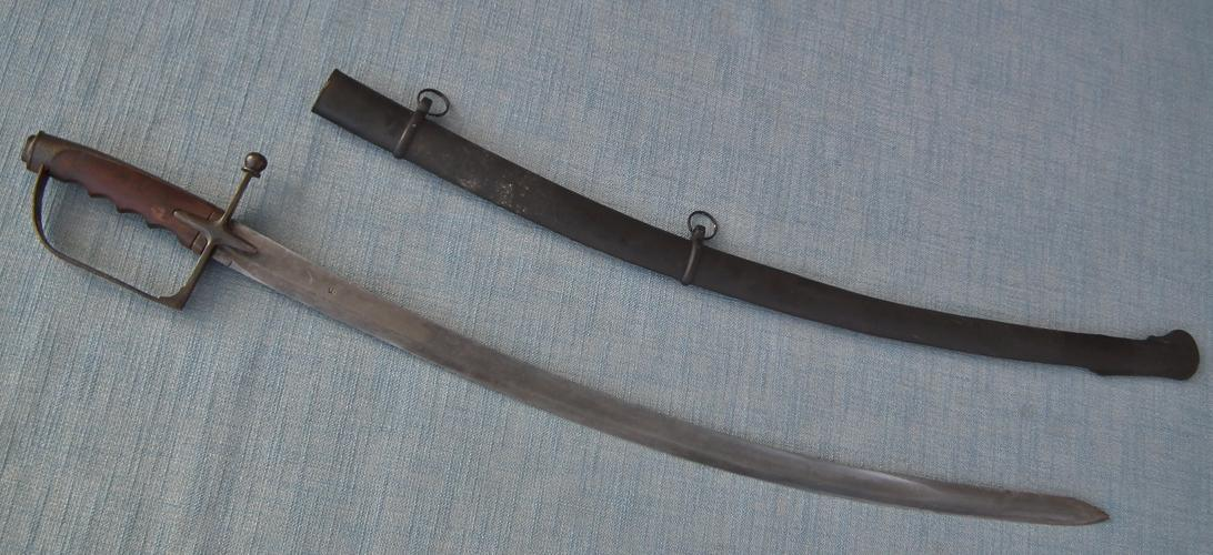 Antique 19th Century Islamic Turkish Ottoman Army Military Sword Sabre