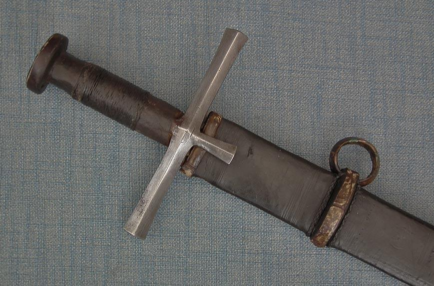 Antique North African Sudanese Islamic Sword Kaskara Mahdist War Period 19th Century Sudan