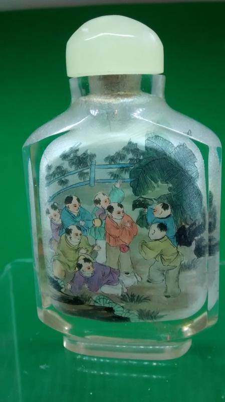 Inside Painted Snuff Bottle