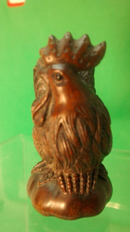 Rooster Netsuke