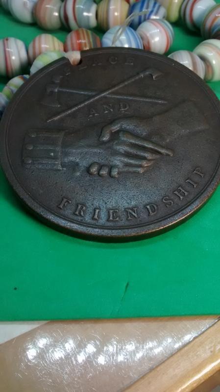 Geo. Washington Indian Peace Medal