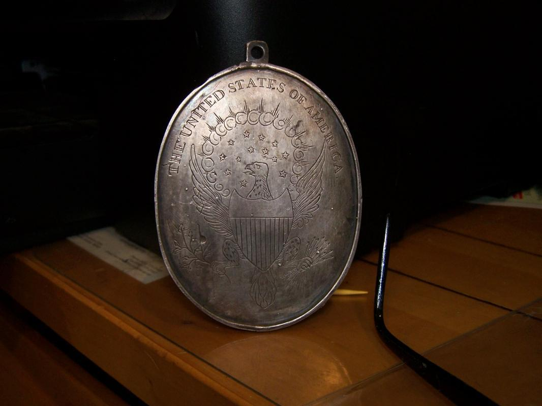 RARE G.W. Silver Peace Medal 1789 (1903)