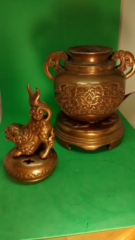 Japanese Buddhist incense burner