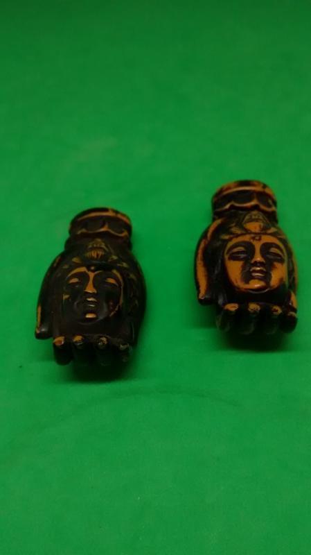 Palm Ivory Netsuke Hands