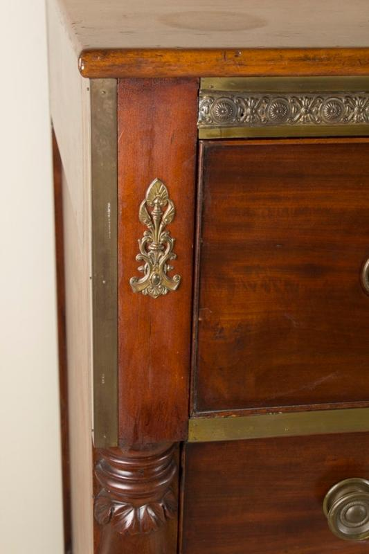 20th Century Empire Style Chest of Drawers