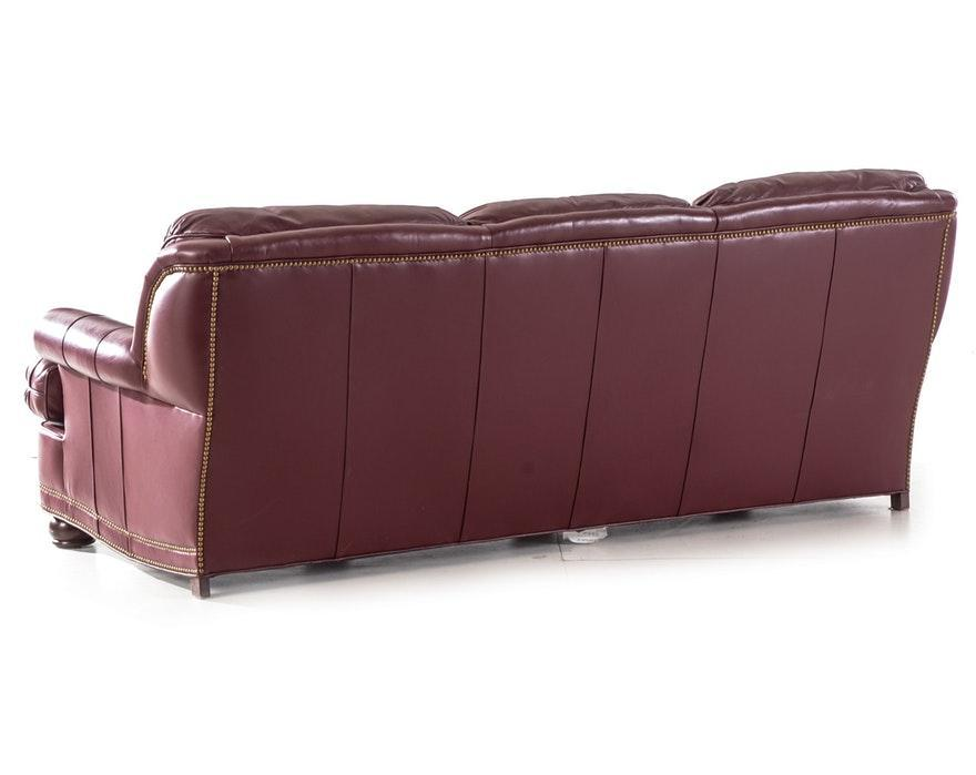 Moroccan Hancock and Moore Leather Sofa