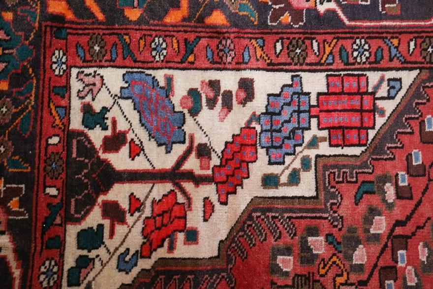 Persian Tabriz Wool Area Rug