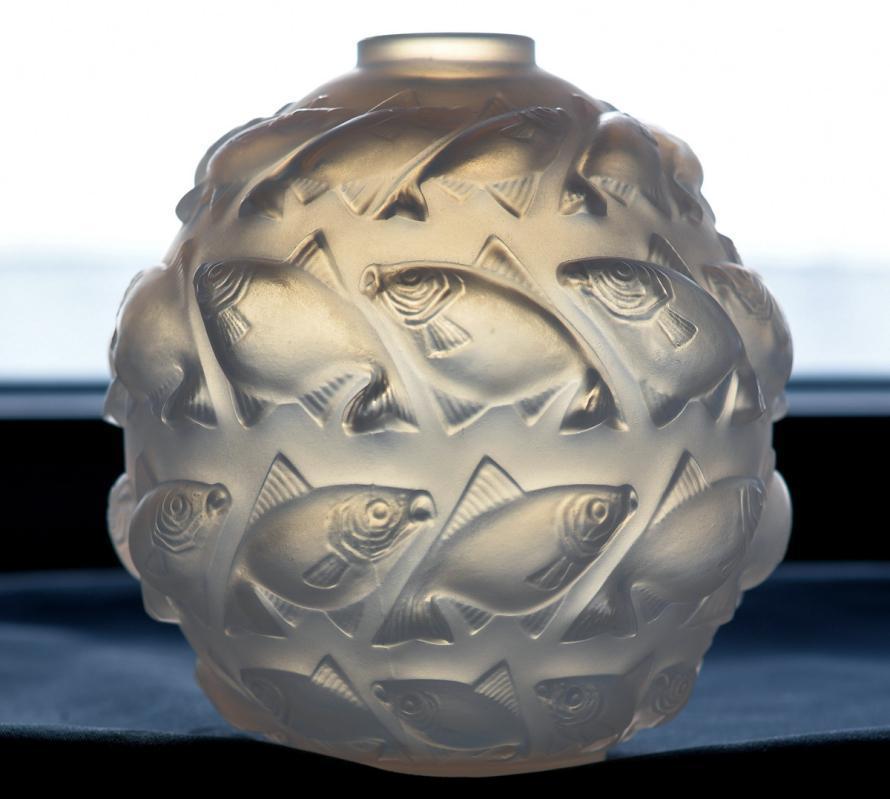 R. Lalique Camaret Vase, No. 1010, 1928-1937