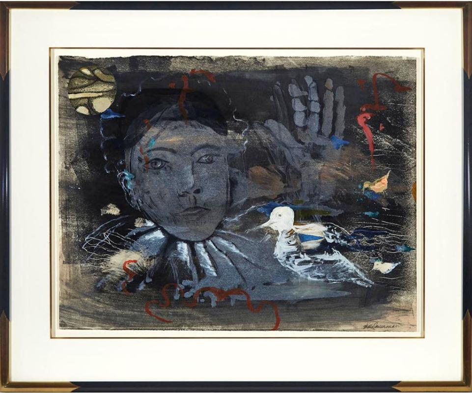 Ghitta Caiserman Roth Mixed Media on paper