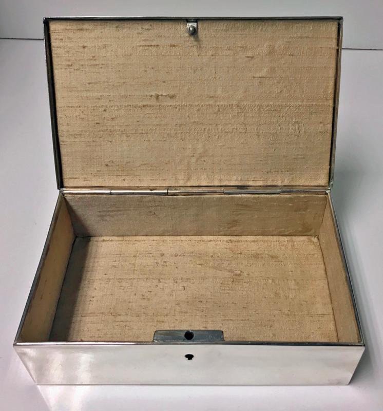 Jugendstil Nouveau Secessionist Jewellery or Cigar Box, WMF Germany C.1906