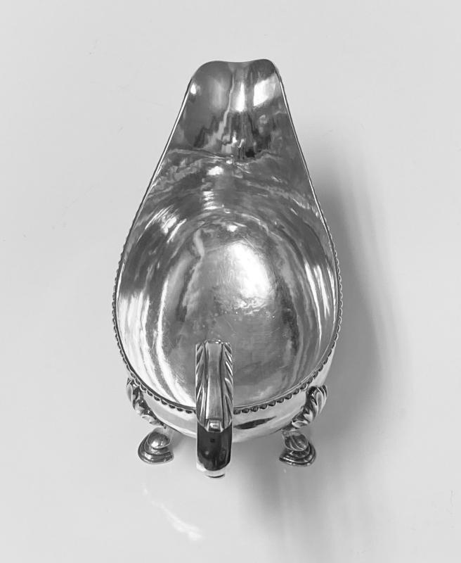 Georgian Silver Sauceboat, London 1785  Charles Hougham