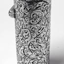 Sampson Mordan Silver Scent Perfume Bottle, London, 1888