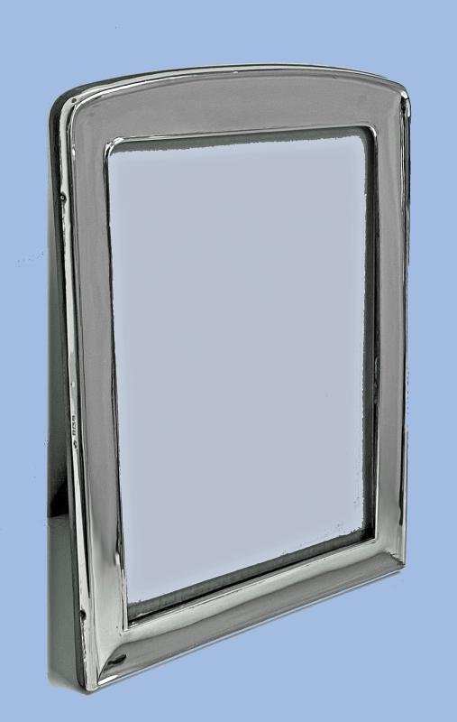 English Sterling Silver Photograph Frame Birmingham 1926 William Hutton