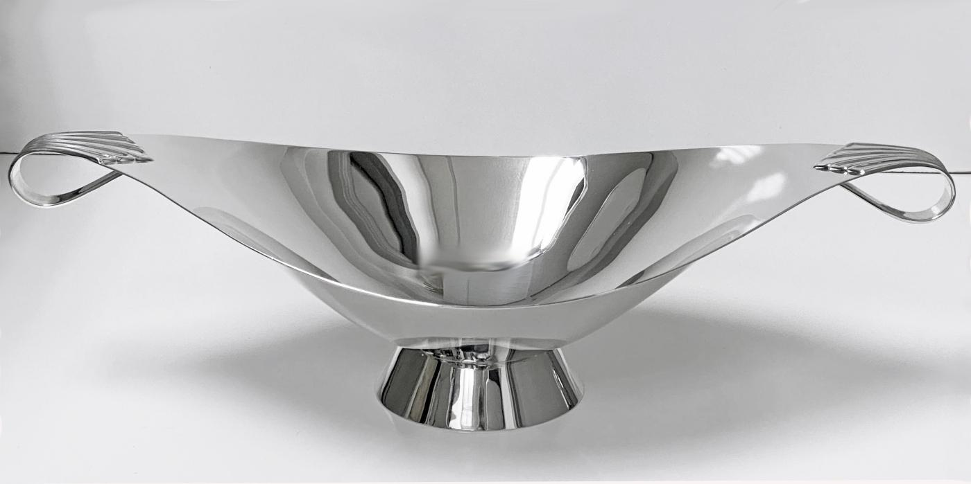 Tiffany & Co. Sterling Silver Centerpiece, New York, C.1952