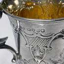 Antique Victorian Silver Mug, London 1872 Edward Ker Reid