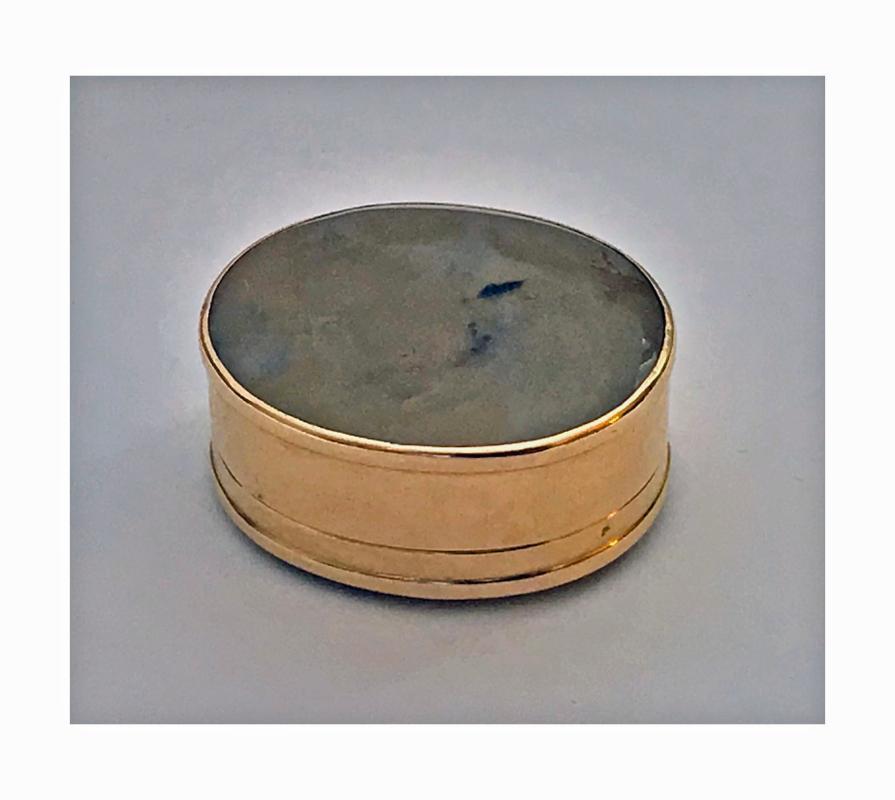 Georgian Gold Vinaigrette, C.1800