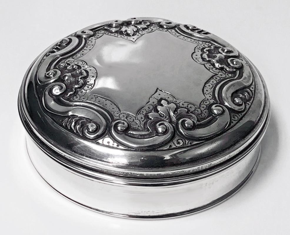 Portuguese Silver Box, Gondomar 1938