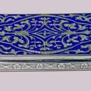 Antique Silver and Enamel Box, C.1920.