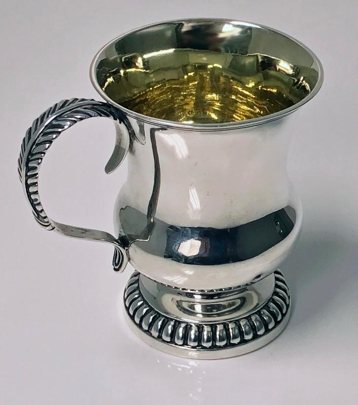 Scottish Aberdeen Provincial Silver Mug Tankard, George Booth C.1810-20