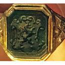 Antique 18K Bloodstone Signet Ring C.1880.