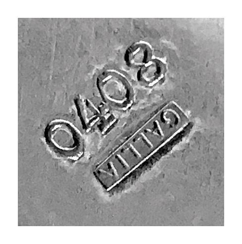 Art Deco Christofle Silver Plate Cooler, France C.1935